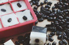 Homemade Exfoliation Cubes - The DIY Coconut Coffee Exfoliating Bar is Great for Dull Winter Skin