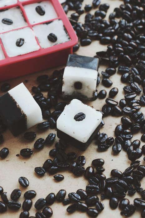 Homemade Exfoliation Cubes