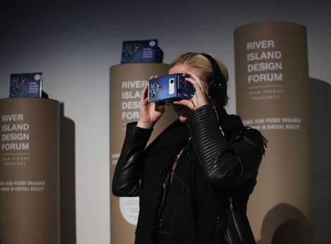 Virtual Fashion Films - River Island's High-Tech Fashion Experience Embraces Google Cardboard