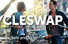 Bike Sharing Programs - The Cycleswap Bike Rental Service Recently Launched in Amsterdam