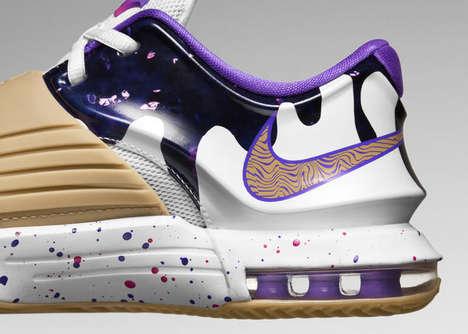 Shuffle-Friendly Basketball Shoes : NIKE HYPERCHASE