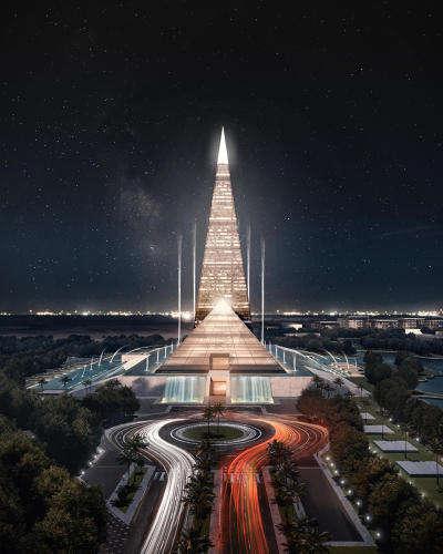 Record-Breaking Pyramid Buildings