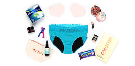 Motherhood Survival Kits - Hello Flo's New Mom Kit is Stocked with Products for New Moms