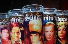 Space Explorer Candles - This Star Trek Candle Set Imagines the Characters as Religious Figures
