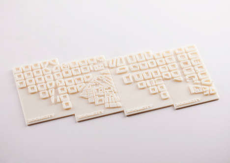 3D-Printed Business Cards