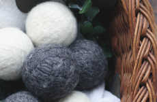 Homemade Laundry Accessories - These DIY Dryer Sheets and Reusable Dryer Balls are Natural Products