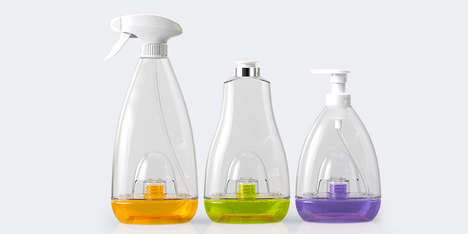 Eco Spray Containers - Resourceful Replenish Packaging was Designed for Continuous Reuse