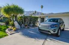 Architectural Auto Events - Land Rover's Car Showcase Pairs Its Vehicles with Modern Houses