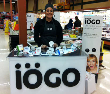 Portable Yogurt Displays