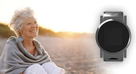 Senior-Protecting Wearables - This Smartwatch for the Elderly is Raising Finances via Kickstarter