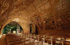 Cavernous Hand-Carved Chapels