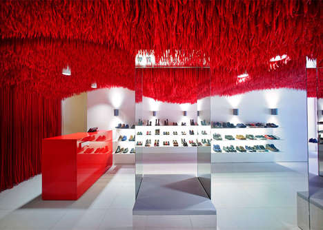 Fibrous Retail Installations