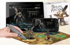 Digitally Enhanced Boardgames - Golem Arcana Embeds Traditional Rule Book into an App