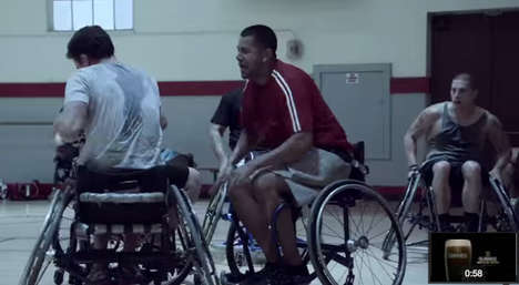 Disabled Athlete Beer Ads