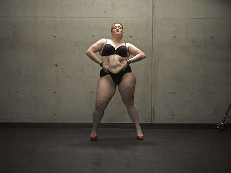 Plus-Size Dancer Portraits - Toby Burrows Photographs Fat Dancers for the Nothing to Lose Project