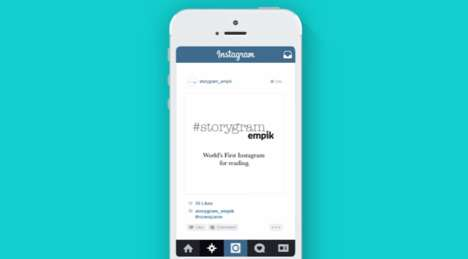 Social Reading Campaigns - Empik's Literacy Campaign Gives Away Free Book Chapters on Instagram
