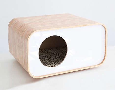 Contemporary Cat Houses