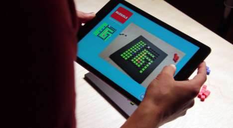 Tablet Game Builders - Bloxels' Digital Board Game Lets Kids Create Their Own Challenges