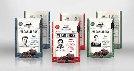 Vegan Jerky Snacks - The Louisville Vegan Jerky Co.'s Snacks Provide Protein Sans Meat