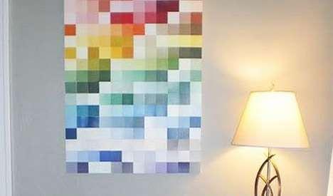Spectral Swatch Art