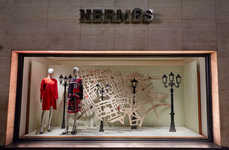 Landmark Retail Havens - The New Hermes London Flagship Resides in a Historic Building