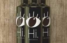 Wide-Eye Labels - Hi Olive Oil Packaging Looks Deep Into the Soul of the Consumer to Engage