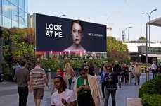 Bruise-Healing Billboards - This Domestic Abuse Awareness Ad Has Onlookers Heal a Battered Woman