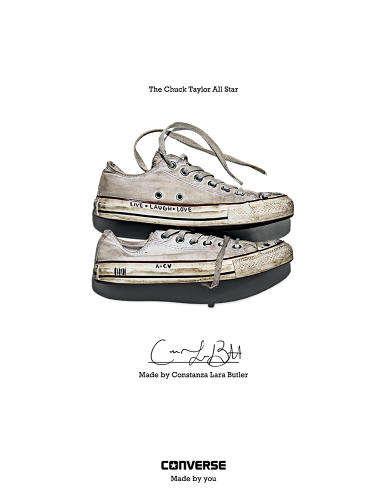 Fan-Celebrating Footwear Ads