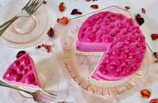 Exotic Ice Cream Cakes - This Dragon Fruit Cake Turns Eastern Ingredients into Western Comfort Food