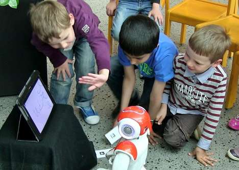 Writing-Teaching Robots