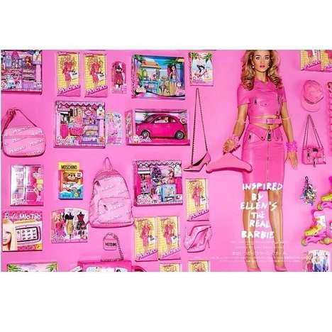 Fashionable Barbie Photoshoots