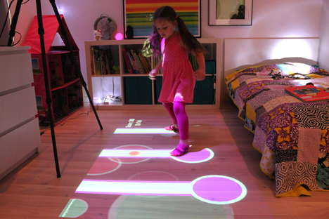 Interactive Game Projectors - The Lumo Interactive Projector Turns Kids' Rooms Into Playgrounds