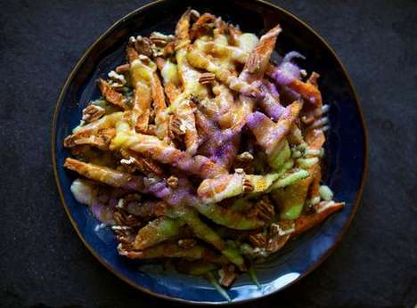 Eclectic Colorful Fries