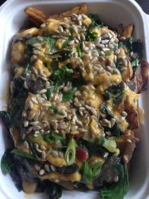 Healthy Vegetarian Poutine