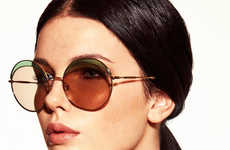 Vintage Eyewear Editorials - L'Officiel Turkey's Lotte Koolen Photoshoot is an Homage to the 70s