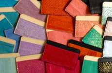 Salmon Skin Purses - These Fish Leather Handbags and Accessories are Exotic and Eco-Conscious