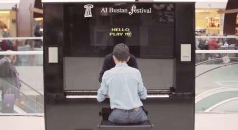 Judgemental Public Pianos