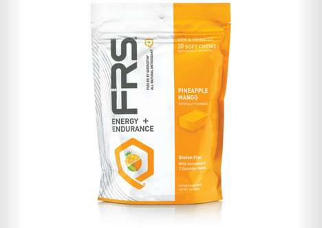 Energy-Boosting Soft Chews - These Fruit Candies by FRS Enhance Energy and Endurance