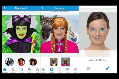 Pop Culture Selfie Apps - Show Your Disney Side Turns Fans into Their Favorite Characters