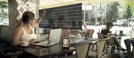 User-Controlled Glass Surfaces