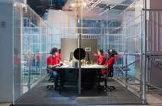 Voyeuristic Art Exhibits - Alone Together is a Performance Art Piece at Red Bull Studios New York