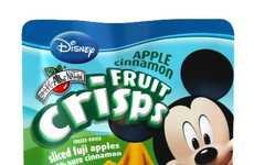 Portable Vegan Snacks - These Disney Fruit Crisps are a Healthy All-Natural Snack for Kids