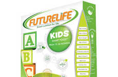 Brain-Boosting Cereals - FUTURELIFE's Smart Food for Kids Fosters Healthy Development