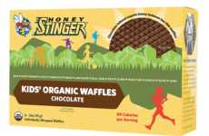 Energizing Organic Waffles - Honey Stinger Waffles Help Kids Fuel Up for a Day of Activities