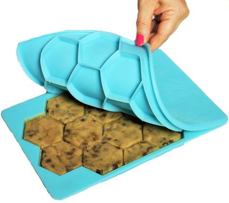 Cookie Dough Molds - The Smart Cookie Tray is a Silicone Mold That Shapes and Stores Homemade Dough