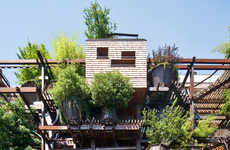 Vertical Forest Facades - This Urban Treehouse Protects Residents from Air and Noise Pollution