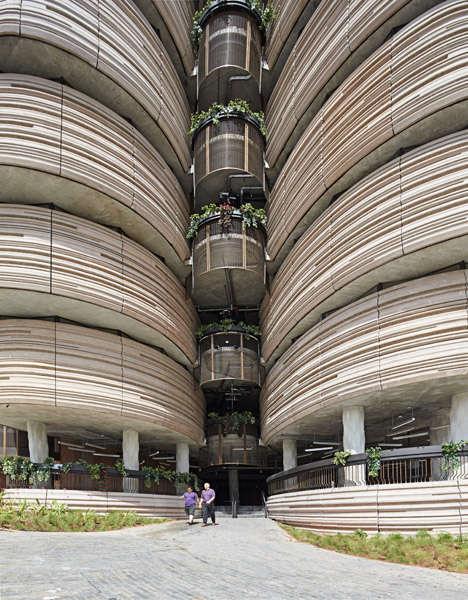 Vegetable-Inspired Buildings
