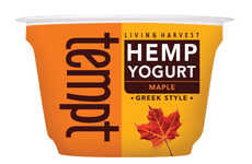 Flavored Hemp Yogurts - Living Harvest Provides Tasty Vegan Yogurt Alternatives with Hemp