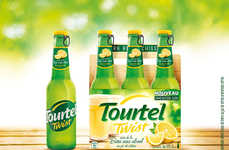 Zesty Citrus Drinks - Tourel Twist is a Non-Alcoholic Drink with a Crisp Bite