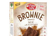 Effortless Baking Mixes - Enjoy Life Foods Helps You Make Brownies by Just Adding Water